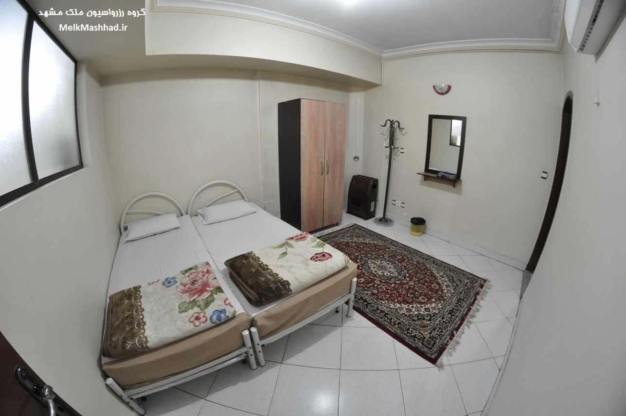 اجاره هتل آپارتمان ۲خواب نزدیک حرم
