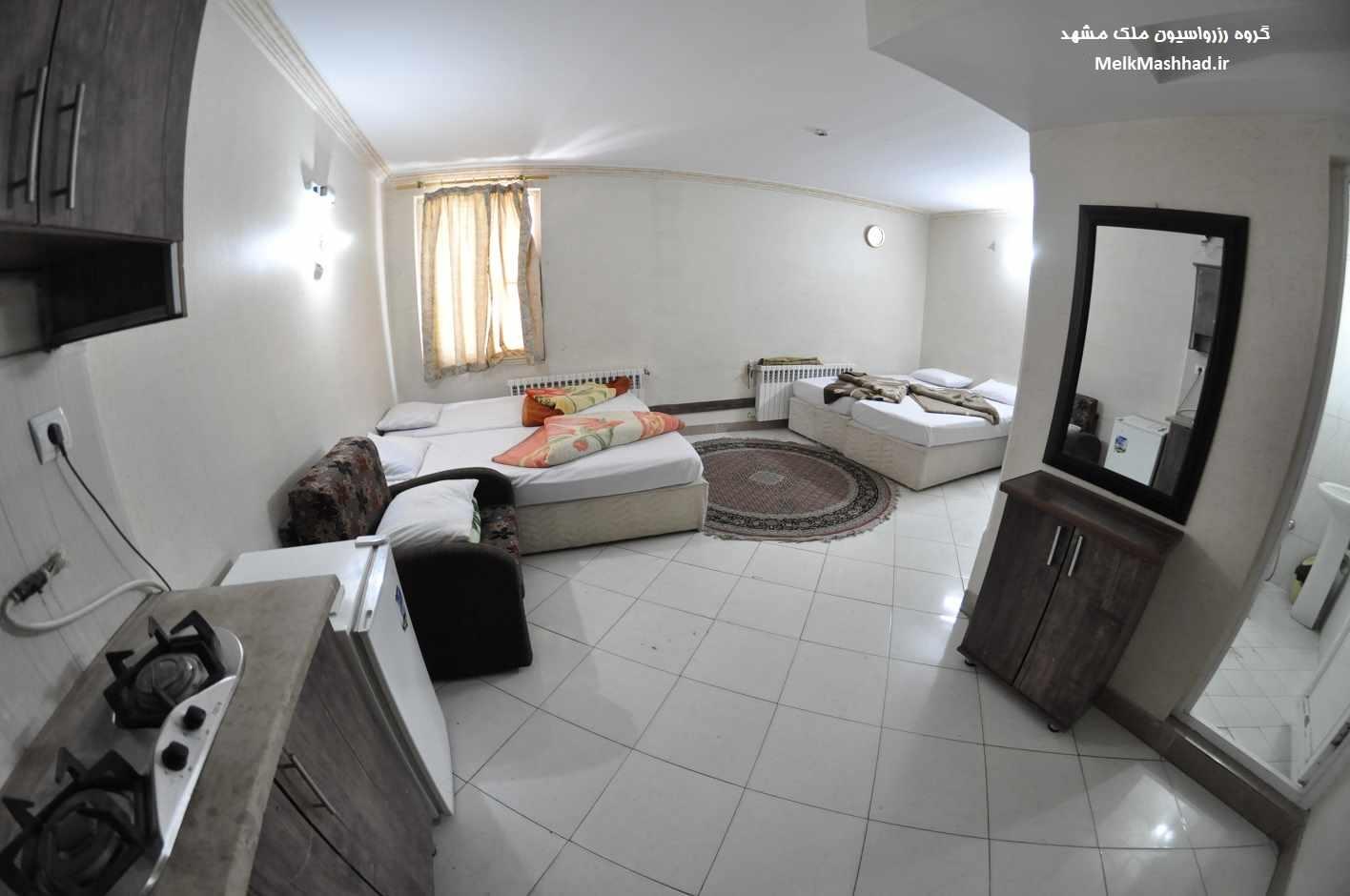 قیمت اجاره هتل آپارتمان در مشهد