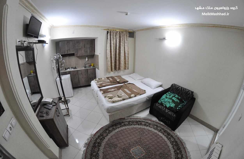 رزرو هتل آپارتمان آرام نزدیک حرم
