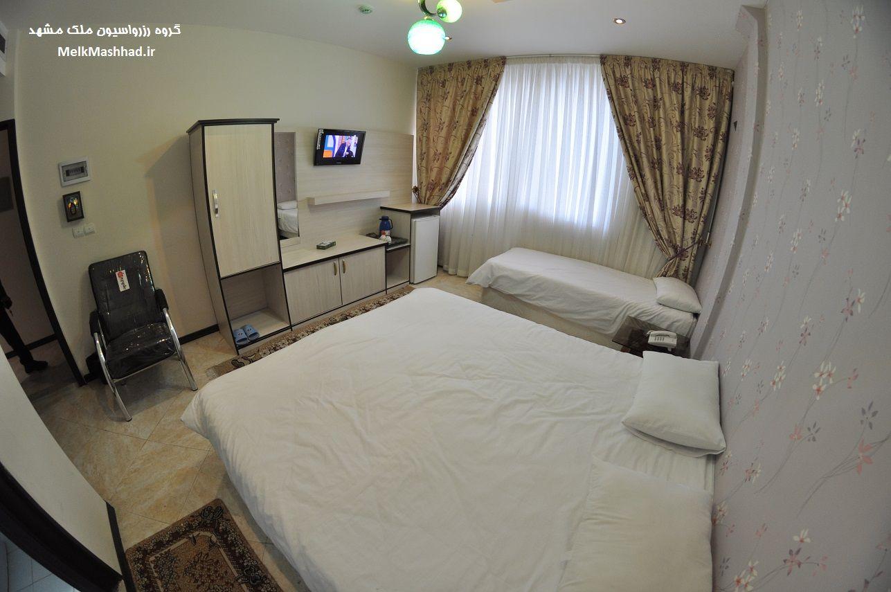 اجاره هتل آپارتمان ، مهمانپذیر و منزل دربست در نزدیکی حرم مطهر